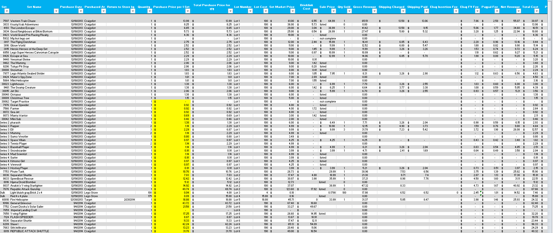 Excel Data Collection Template