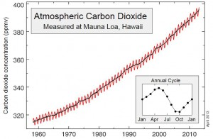 Atmospheric Carbon Dioxide Mauna Loa, Hawaii