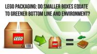 LEGO Packaging: Do Smaller Boxes Equate to Greener Bottom Line and Environment?