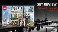 LEGO Review 10243 Parisian Restaurant