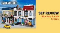 LEGO Review 31026 Bike Shop and Cafe
