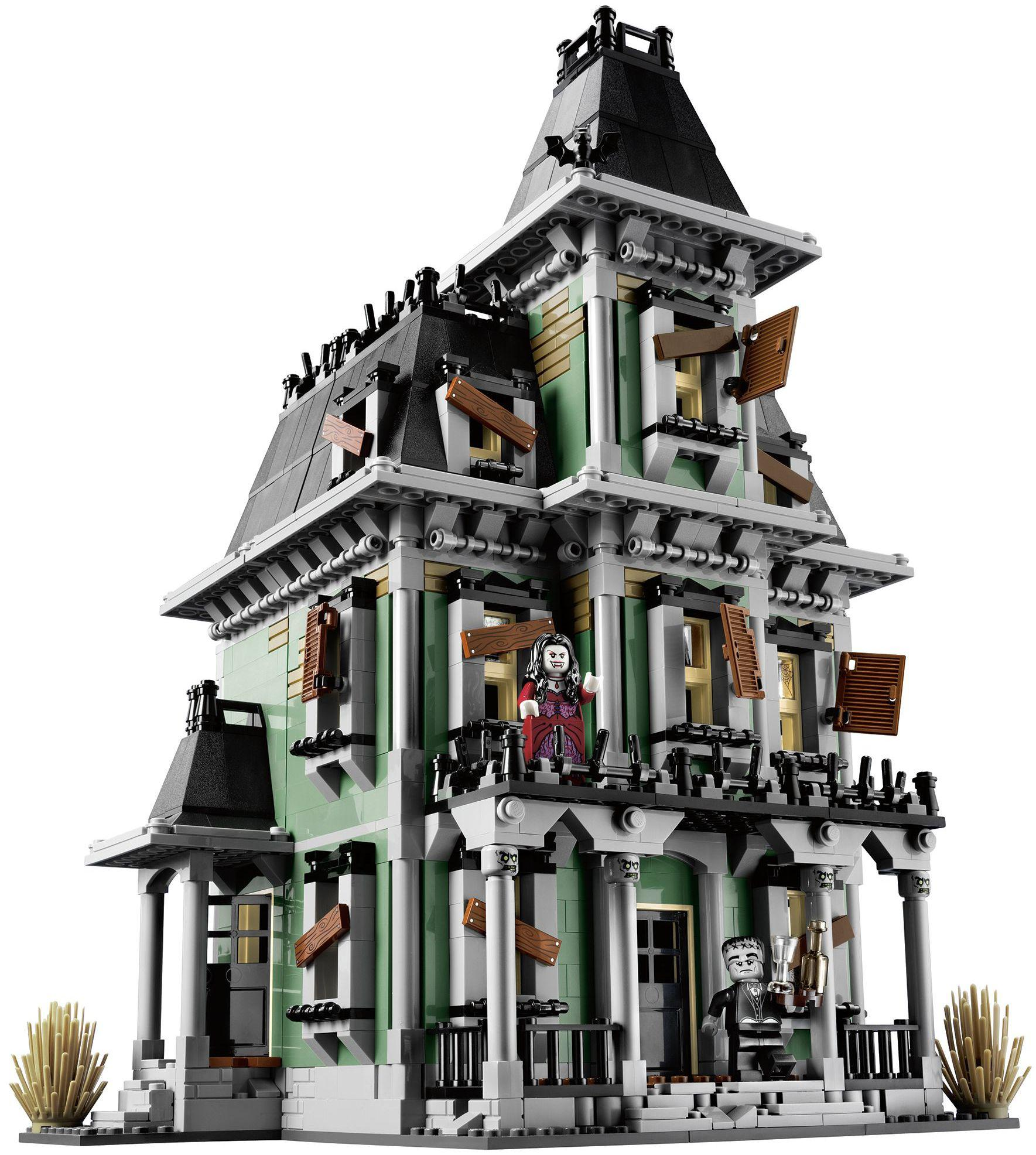 Photo of creepy haunted lego house