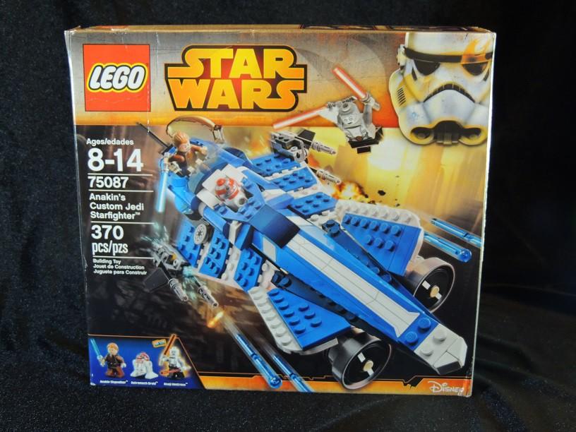 LEGO REVIEW: Star Wars Anakin's Custom Jedi Starfighter #75087