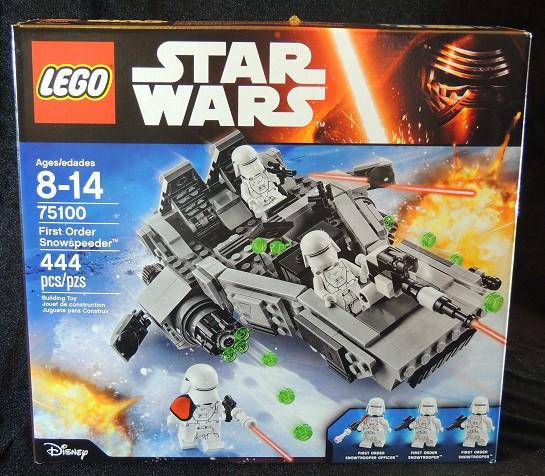LEGO REVIEW: Star Wars First Order Snowspeeder #75100