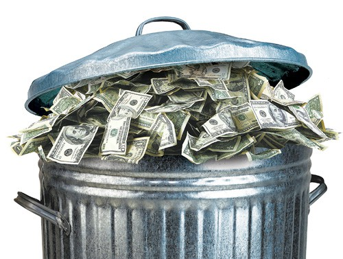 Throwing Money Away: Why Not Buy Everything?