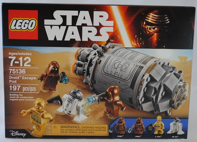 LEGO REVIEW: Star Wars Droid Escape Pod #75136