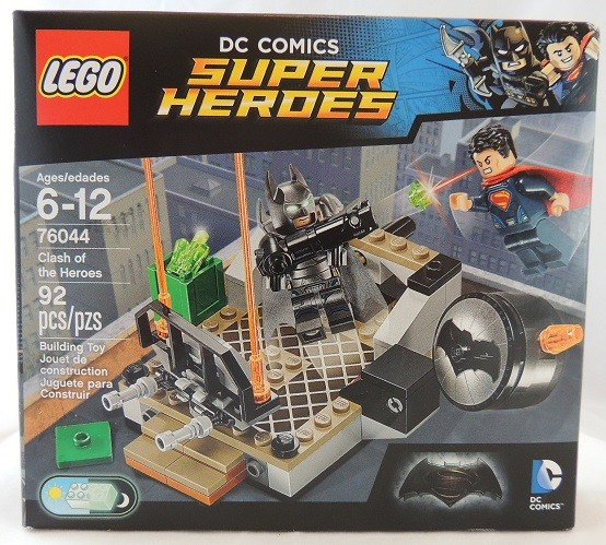 OUTSIDE THE BOX LEGO REVIEW: DC Super Heroes Clash of Heroes #76044