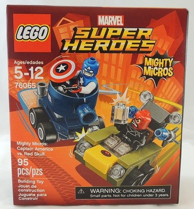 LEGO REVIEW: Marvel Super Heroes Mighty Micros Captain America Vs Red Skull #76065