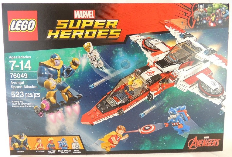 LEGO REVIEW: Marvel Super Heroes Avenjet Space Mission #76049