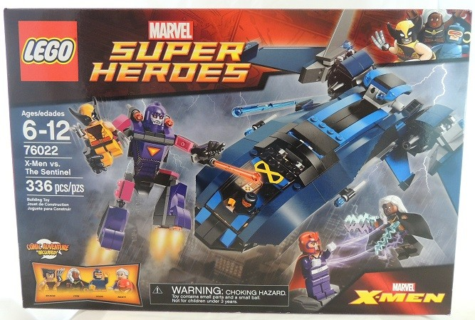LEGO REVIEW: Marvel Super Heroes X-Men Vs. The Sentinel #76022