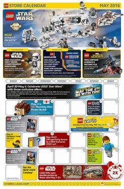LEGO May 2016 US Event Calendar News
