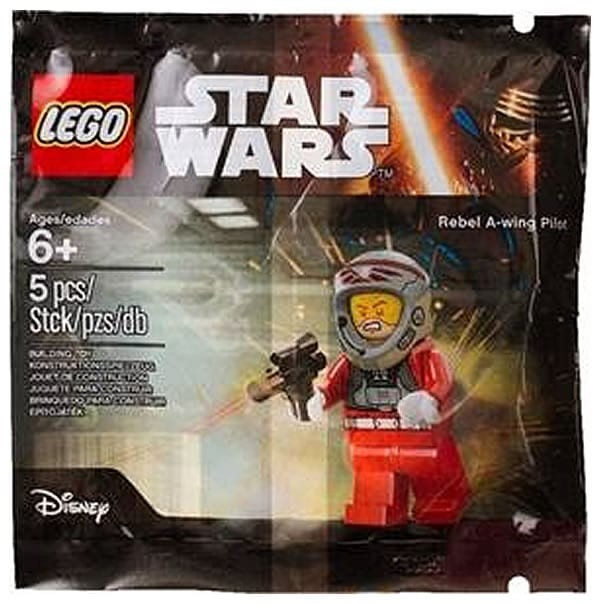 Images of new Star Wars polybag found online Rebel A-Wing Pilot