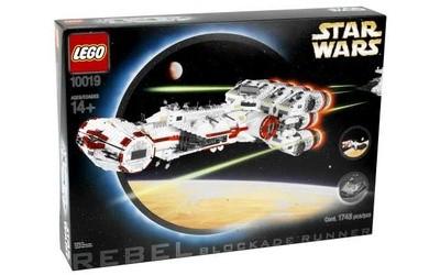 Brick by Brick, Breaking Down Expensive LEGO Sets: 10019 UCS Rebel Blockade Runner