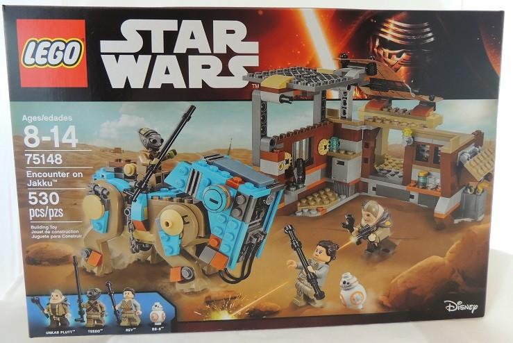 LEGO REVIEW: Star Wars Encounter on Jakku # 75148