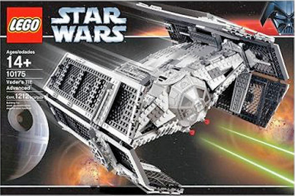 Brick by Brick, Breaking Down Expensive LEGO Sets: 10175 Vader's TIE Advanced