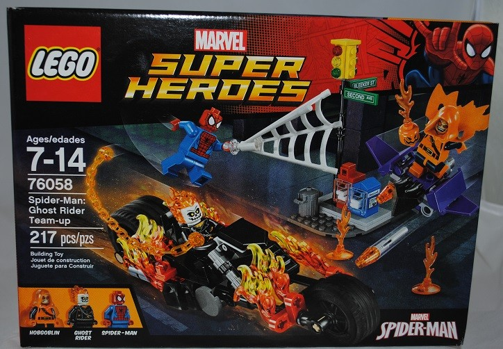 LEGO REVIEW: Marvel Super Heroes 76058 Spider-Man: Ghost Rider Team-Up