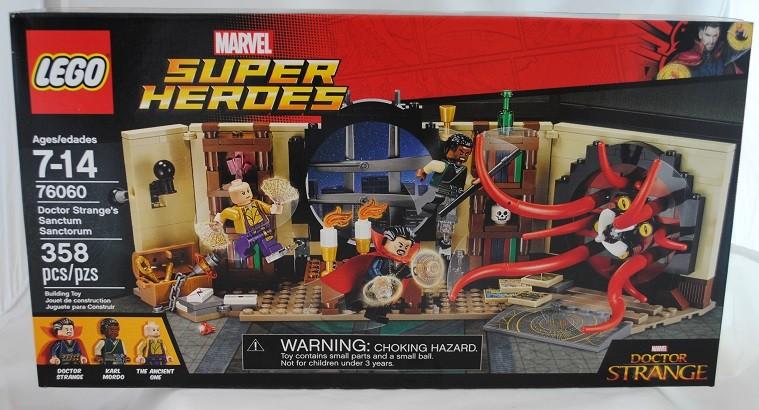 LEGO REVIEW: Marvel Super Heroes 76060 Doctor Strange's Sanctum Sanctorum