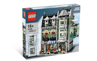 Brick by Brick, Breaking Down Expensive LEGO Sets: 10185 Green Grocer