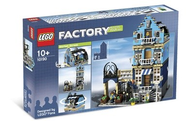 Brick by Brick, Breaking Down Expensive LEGO Sets: 10190 Market Street