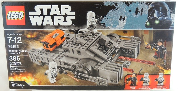 LEGO REVIEW: Star Wars Imperial Assault Hovertank 75152