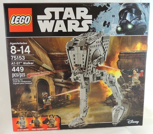 LEGO REVIEW: Star Wars AT-ST Walker 75153
