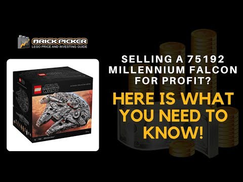 Selling a LEGO 75192 Millennium Falcon for Profit? Here's What You ...