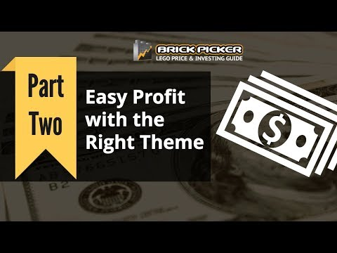 LEGO Investing Part 2: Easy Profit with the Right Theme
