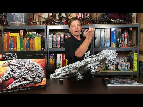 How to Display Your LEGO 75192 Millennium Falcon - BRICKPICKER