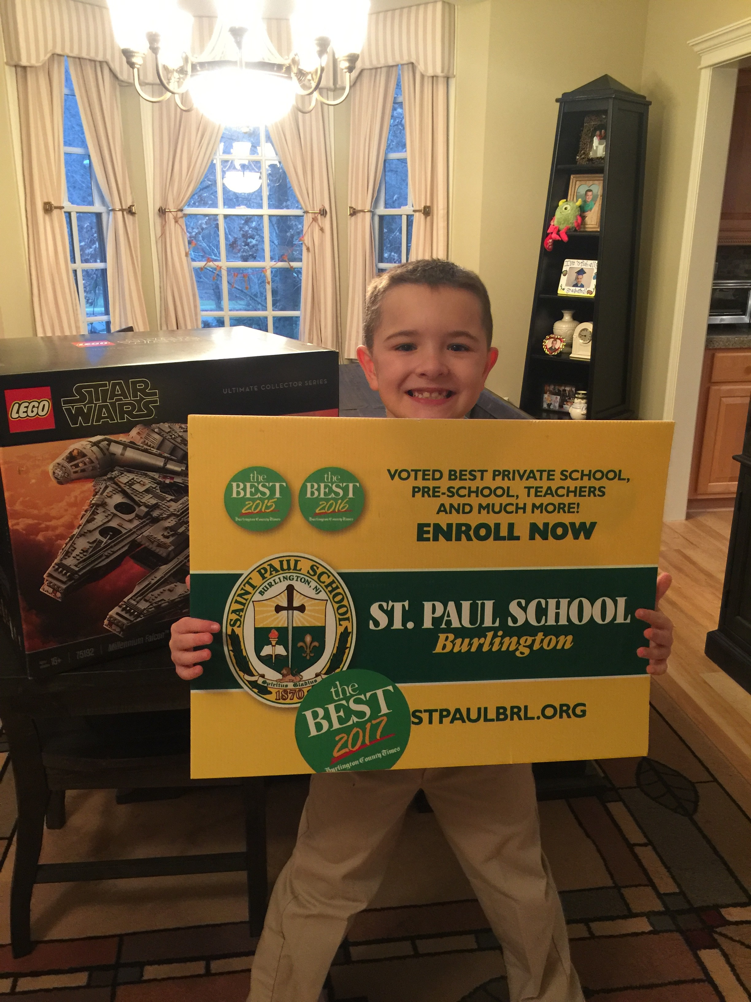 2018 BRICKPICKER LEGO RAFFLE FOR ST. PAUL SCHOOL!