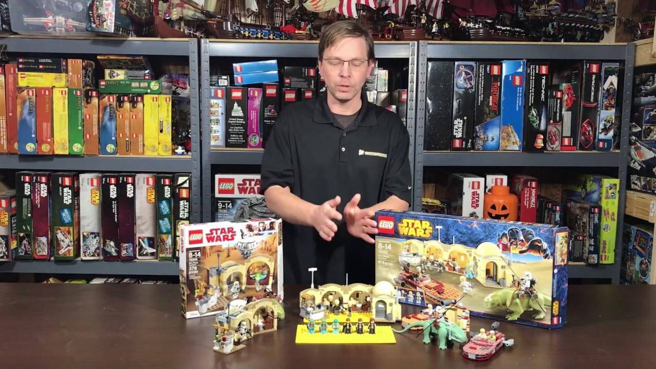 Lego Review: 75205 Mos Eisley Cantina - All 3 Cantinas Compared