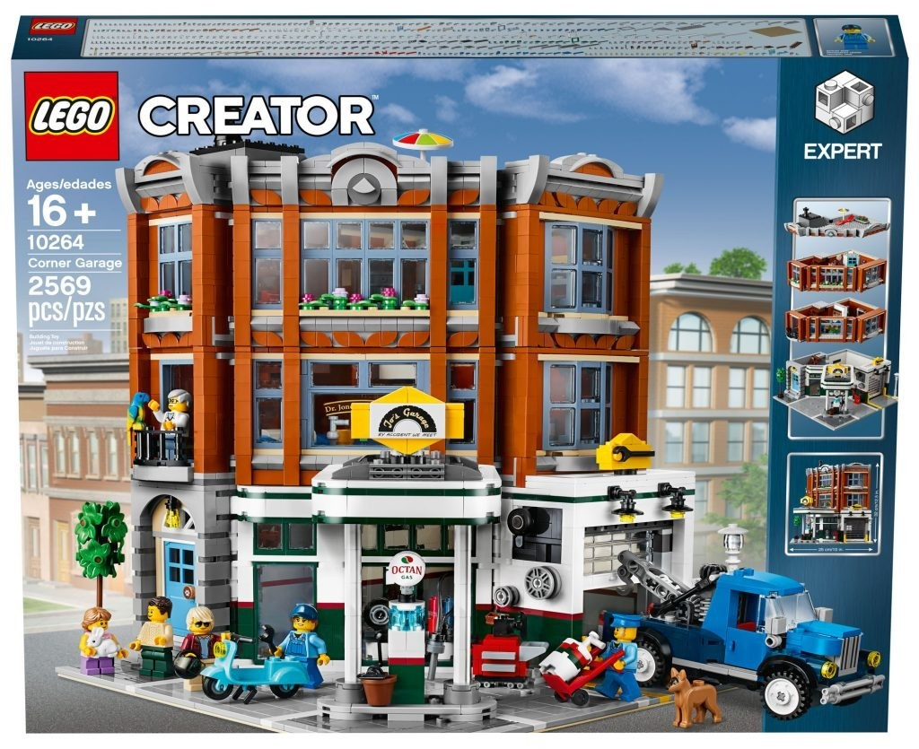 Official Reveal of the LEGO Creator Corner Garage (10264)