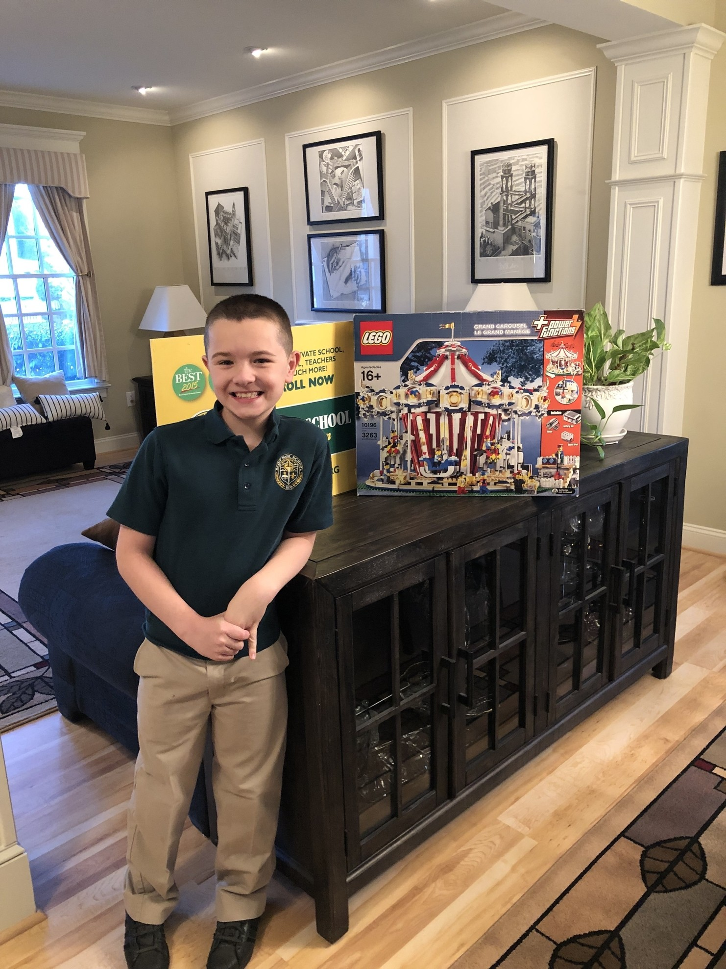 2019 BRICKPICKER LEGO Raffle to Keep St. Paul School Strong!